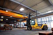 Der Steinbock Stapler <br />max 16 to Hublast <br /> aus dem Holzhandel seit Jahren im Stahlhandel